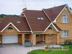 Многоуровневая мансардная крыша