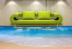Наливные полы 3D в морском стиле