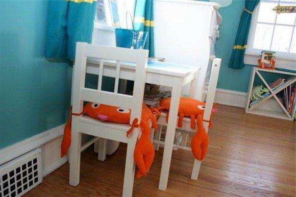 Мебель в морском стиле - яркие акценты