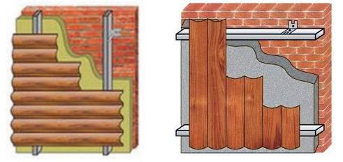 Монтаж металлосайдинга - вертикальное и горизонтальное крепление