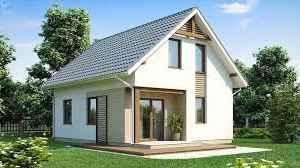 Проекты дачных домов с мансардой для жизни и отдыха
