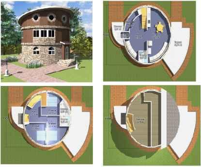Проект двухэтажного дома с мансардой – максимальное увеличение жилой площади