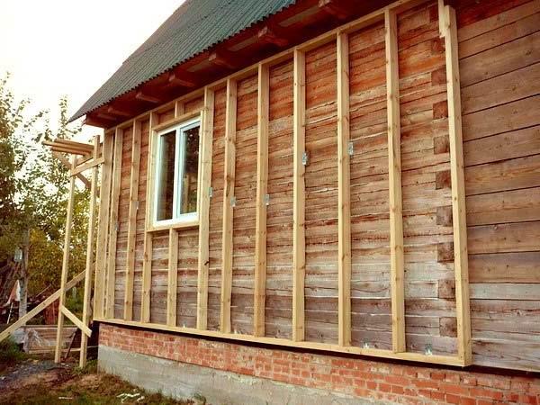 Утепление деревянного каркасного дома