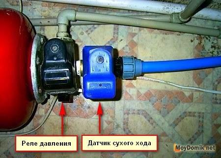 Подключение гидроаккумулятора для скважины