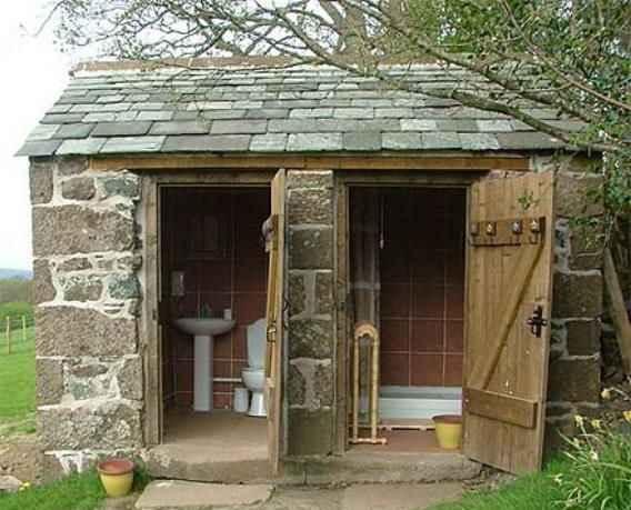 Как построить летний душ на даче своими руками из кирпича