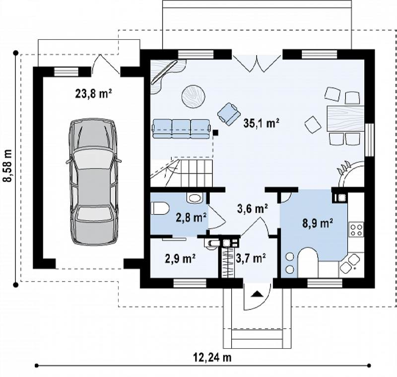 Примеры проект 9 этажей