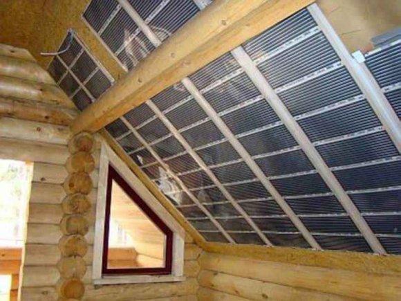 ПЛЭН отопление потолка