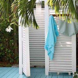 Каркасный летний душ