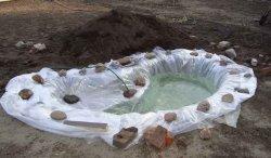 Полимерная пленка для пруда (водоема)
