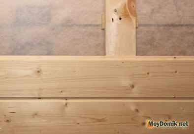 Монтаж вагонки своими руками деревянной