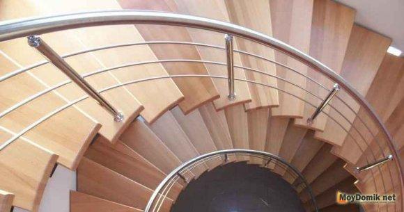 Ограждения лестниц – металлические и деревянные