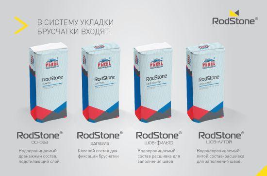 Система мощения брусчатки «RodStone – Основа»