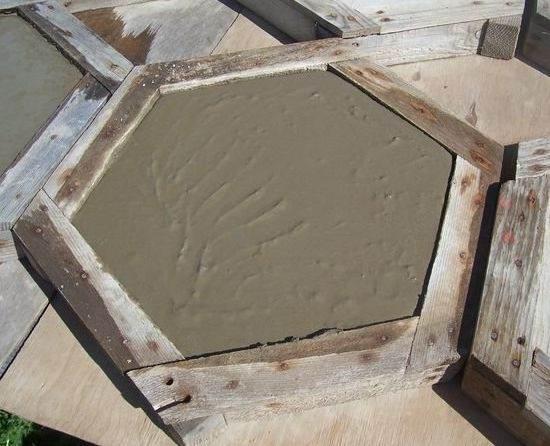 Изготовление плитки своими руками фото