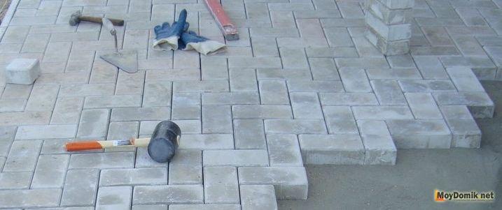 пошаговая инструкция по укладке тротуарной плитки - фото 4