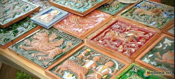 Изразцы для печи, камина и облицовки стен