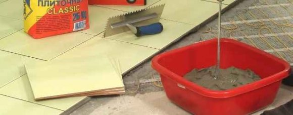 Растворы и смеси для плитки