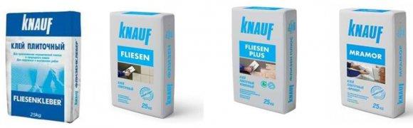 Клей для плитки Кнауф-Флизен