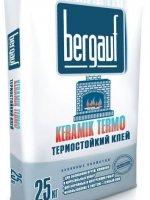 Клей для печной плитки Bergauf KERAMIK TERMO
