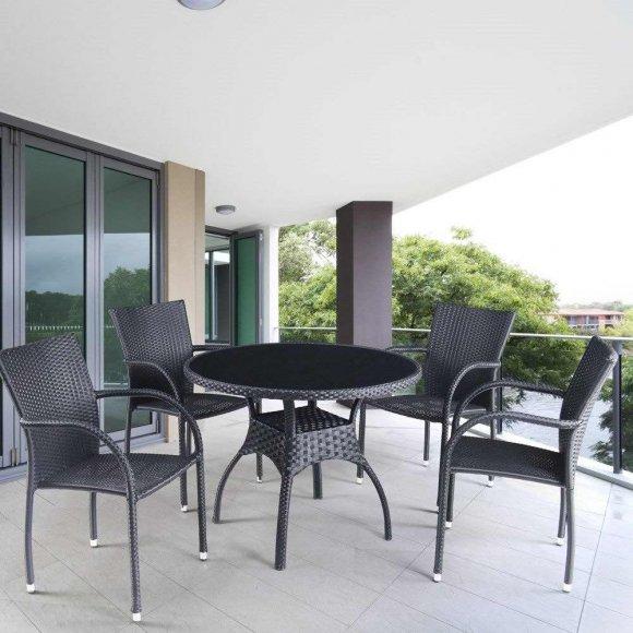 Мебель в дизайне веранды