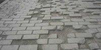 Старые дорожки из тротуарной плитки