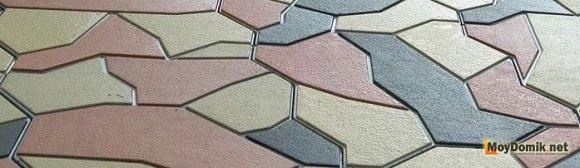 Изготовление тротуарной плитки своими руками