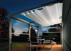 Раздвижная крыша для веранды