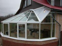 Прозрачная крыша для веранды
