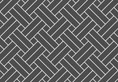 Укладка паркета - плетенка диагональная двойная