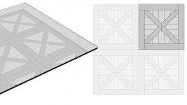 Схема укладки модульного паркета - 1