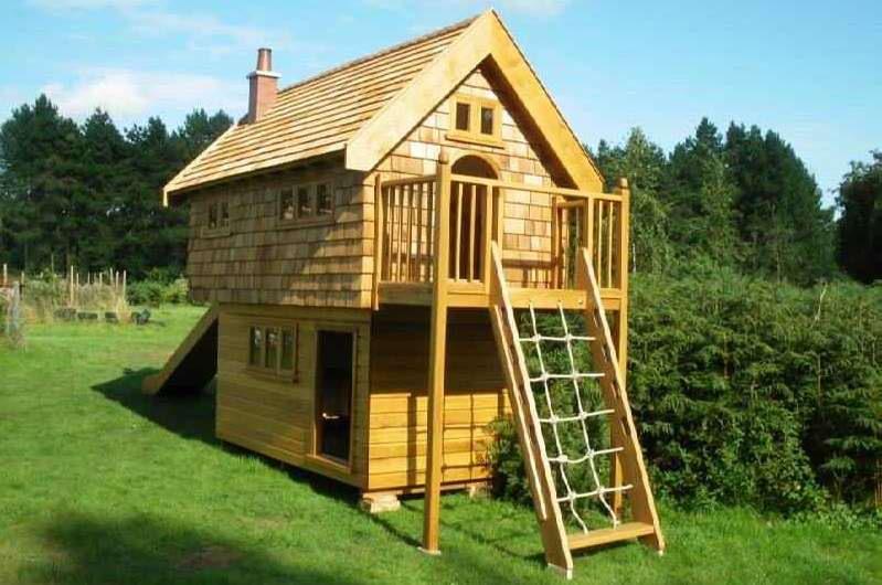 Детский деревянный домик для дачи своими руками пошаговая инструкция с фото