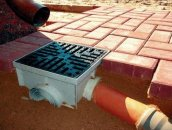 Отвод воды от отмостки - ливнеприемник