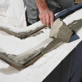Армирование пеноблоков стальной арматурой