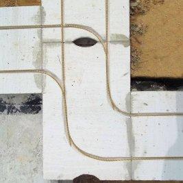 Армирование пеноблоков стеклопластиковой арматурой