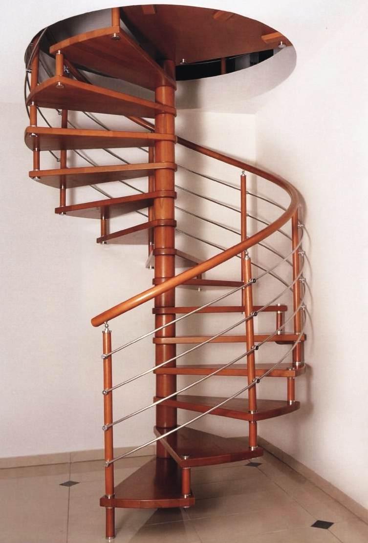 Изготовление своими руками винтовой лестнице