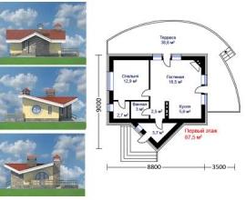 Готовые проекты кирпичных домов - 2