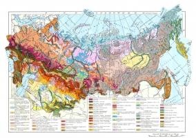 Карта грунтов России