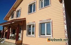 Резные деревянные наличники на окна - 6