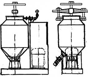 Схема установки для изготовления пенобетона Санни