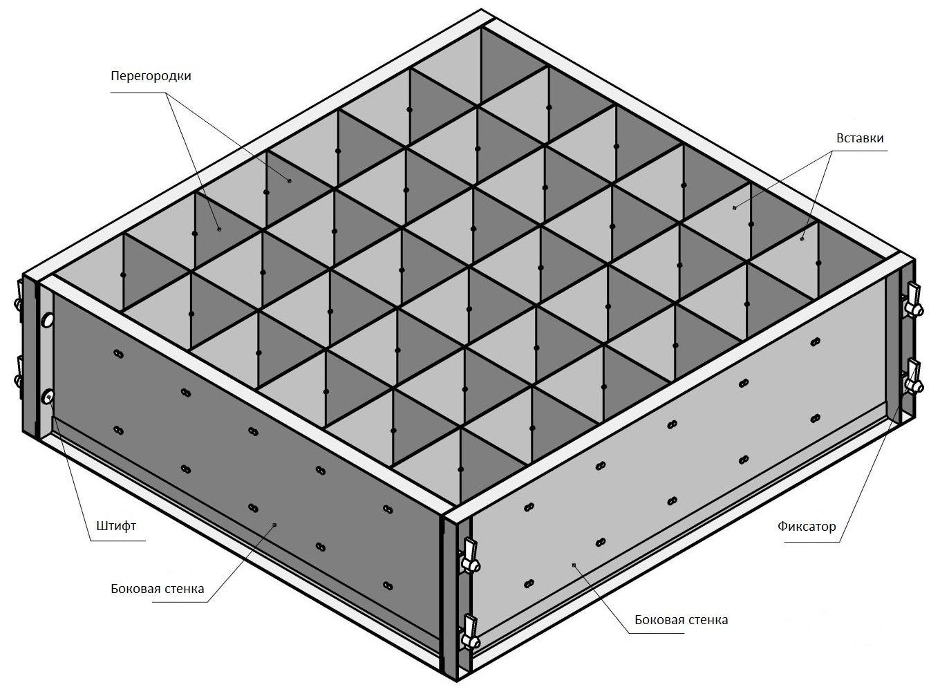 Как сделать форма для пеноблоков 27