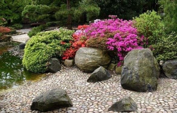 Цветники в ландшафтном дизайне