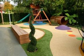 Детская площадка в ландшафтном дизайне