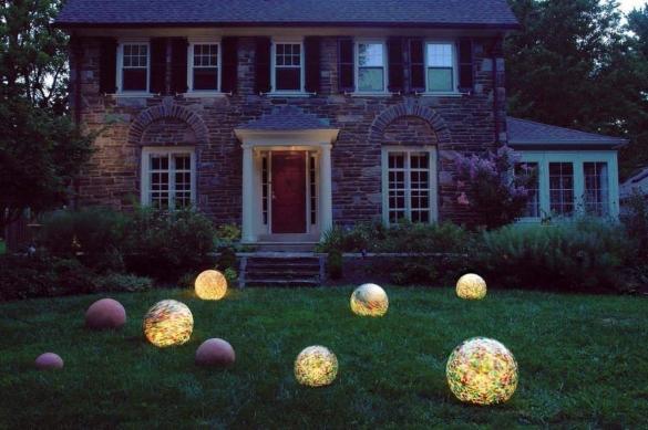 Освещение в ландшафтном дизайне загородного дома