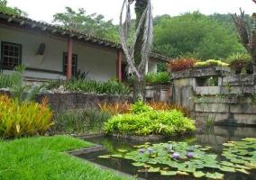 Ландшафтный дизайн сада от Роберто Бурле Маркса