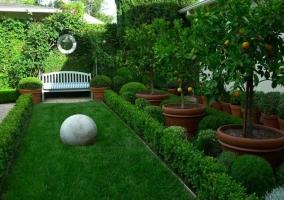 Дизайн классического сада в ландшафтном дизайне