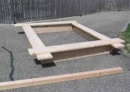 Изготовление песочницы своими руками - 4