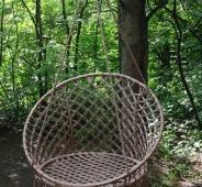 Подвесные качели-гнездо