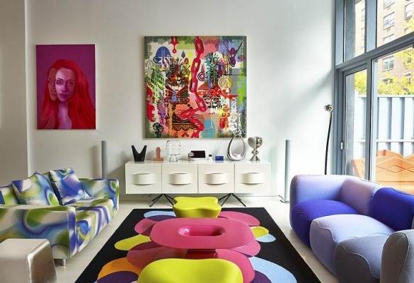 Молодежный интерьер комнаты для девочки