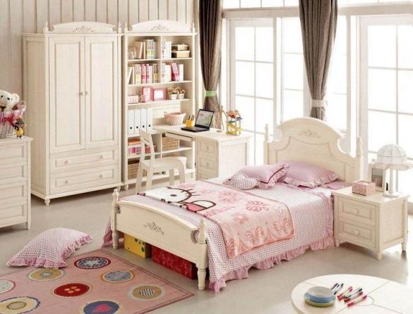Интерьер комнаты для девочки в стиле Прованс
