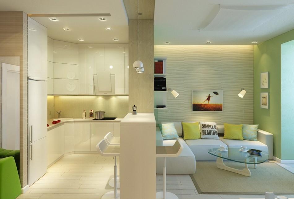 Фото кухни в квартире студии фото дизайн