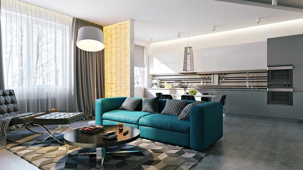 дизайн квартиры студии 2018 фото идеи интерьера со свободной